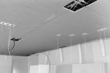 Ristrutturazione appartamento con soffitto radiante in cartongesso