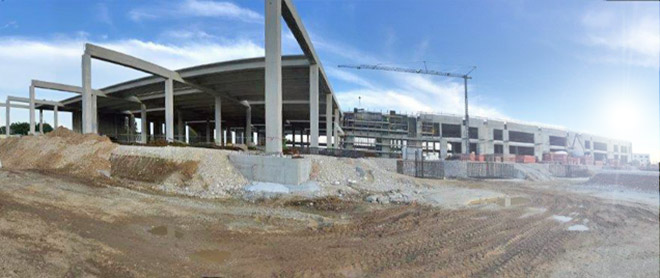 Sistema radiante a pavimento per climatizzare il nuovo centro produttivo Vimar