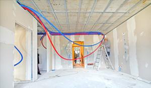 impianto radiante a soffitto riscaldamento e raffrescamento appartamento
