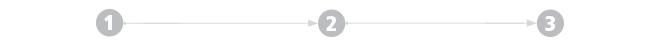 Tre fasi di lavorazione sistema a pavimento Zeromax
